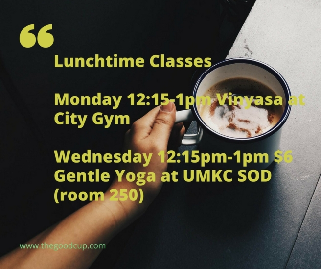 Lunchtime Classes